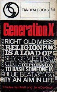 Generation X by Jane Deverson and Charles Hamblett • Courtesy of Wikipedia