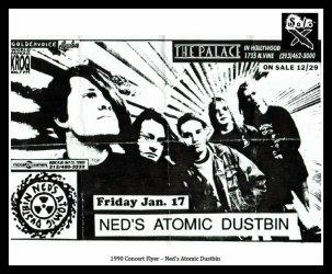 1990 Concert Flyer