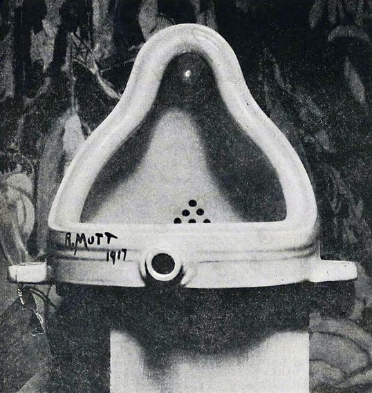Marcel Duchamp - src Original picture by Stieglitz