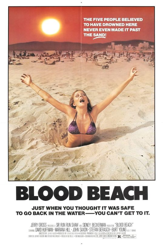 Blood Beach Movie Poster